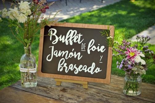 Buffet de jamón